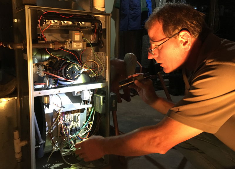 gas furnace inspection